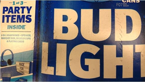 bud light party items   Edmonton Liquor Store   Spirits of